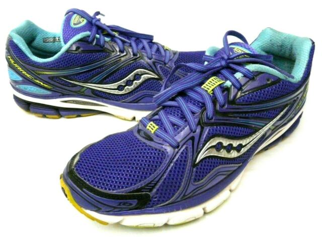 a10b688f Saucony Hurricane 16 Womens Size 11 Running Athletic Shoes Purple Mesh  10225-2