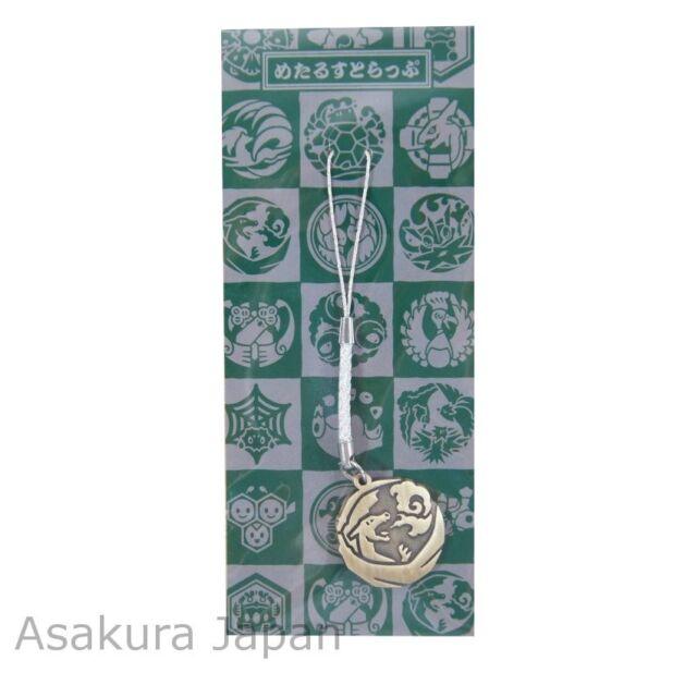 Pokemon Center Japanese Traditional Design Poke-Mon Metal Strap Charizard