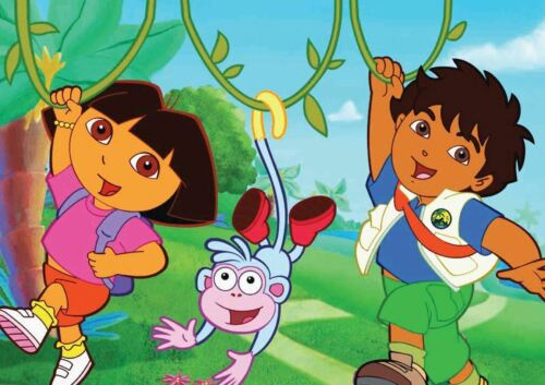 DORA THE EXPLORER A3 POSTER ART PRINT YF168