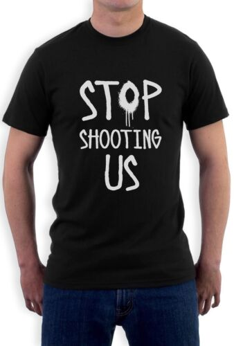 Stop Shooting Us Civil Rights T-Shirt Justice Black Lives Matter