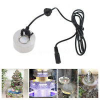 Ultrasonic Mist Maker Fogger Water Fountain Pond Machine Atomizer Air Humidifier