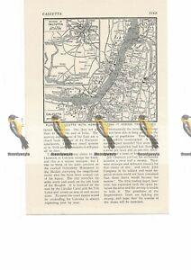 Calcutta-Kolkata-Map-India-Book-Illustration-c1920