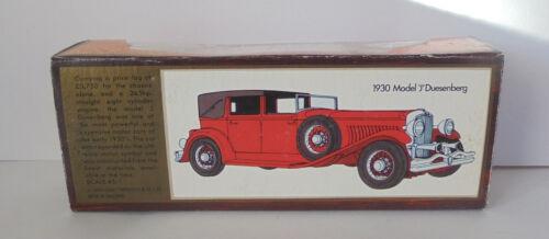Repro Box Matchbox MOY Nr.04 H 1930 Model J Düsenberg