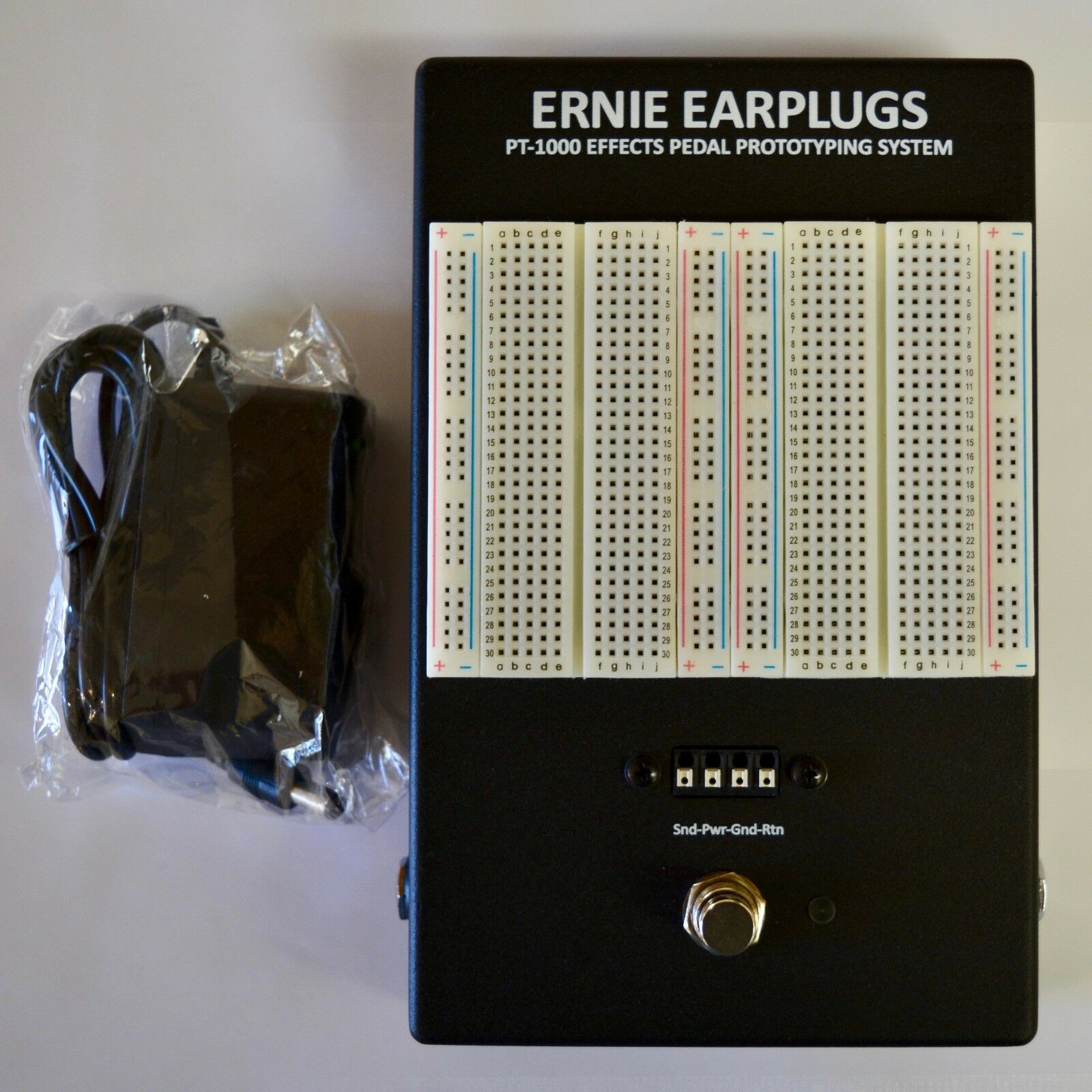 Ernie Earplugs PT-1000 Effects Pedal Prototyping System