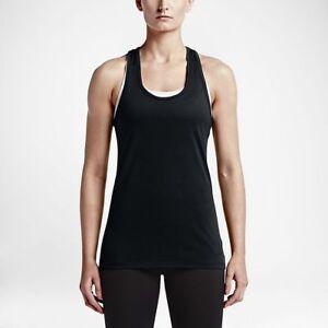 ad1f2261528493 Nike Women s Sz XL - DRY TRAINING TANK TOP - Black 648567 010 ...