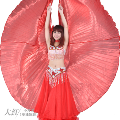 Belly Dance Costume One-side Open Skirt 9 Colors