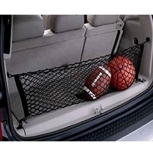 Car Cargo Trunk Storage Net Mesh Adjustable SUV Organizer Elastic Nylon Pocket