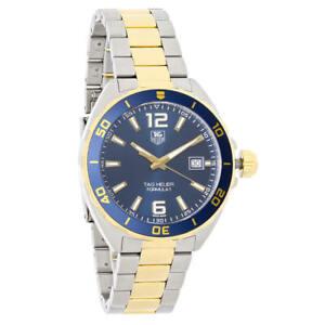 New-Tag-Heuer-WAZ1120-BB0879-Men-039-s-Formula-1-Swiss-Quartz-Watch
