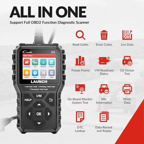 Code Readers & Scanners 2020 LAUNCH X431 OBD2 Code Reader Car ...