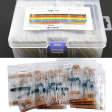 1460Pcs Electronic 1//4W 73 Value Metal Film Resistors Resistances Assortment Set