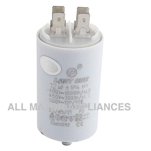 5 x 12uF Run Capacitor LAST ONE Plastic 400//450//500V pump spa dryer motors