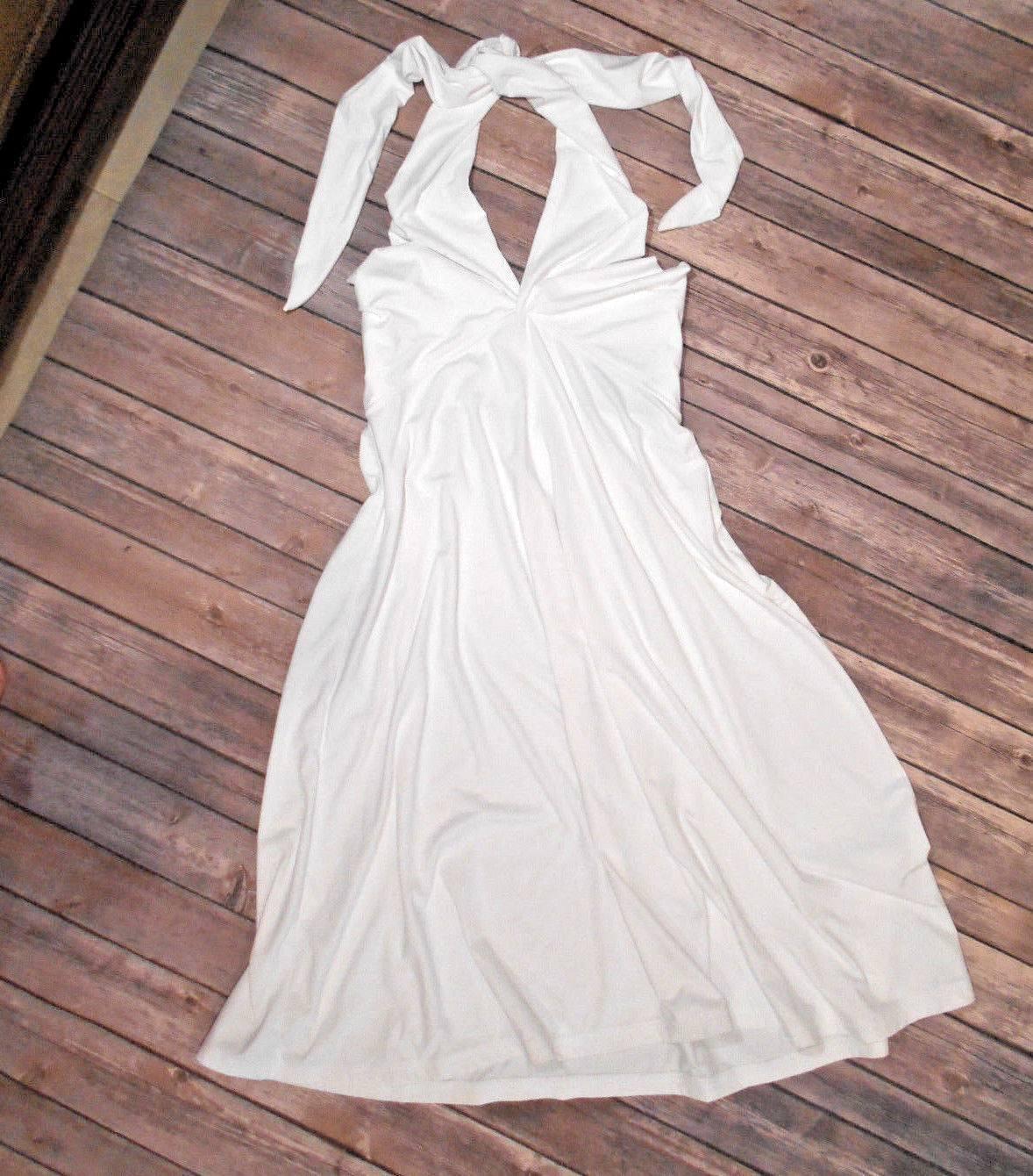 .. NWT TITLE NINE White 3 Way PIN UP XL Stretchy Marilyn Monroe 1940 Retro