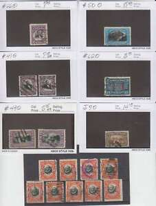 A2188-Early-Canal-Zone-Stamp-Lot-Look