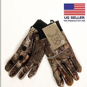 5-12-Caza-Realtree-Xtra-camuflaje-Telefono-Celular-Series-compatible-XX-grande-Guantes-XXL