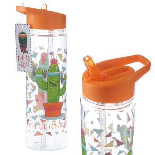 Neuf Plastique permet de cactercise Cactus bouteille d/'eau 500 ml