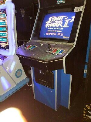 Street Fighter 2 Hyper Fighting Big Blue Armario Retro Arcade Jogo
