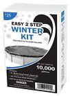 Swimming Pool Winterizing Kit 10,000 Gallon Liquid Winterizer & Winter powder *