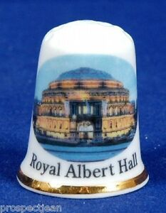 An-Evening-At-The-Royal-Albert-Hall-Home-of-The-Proms-London-China-Thimble-B-89