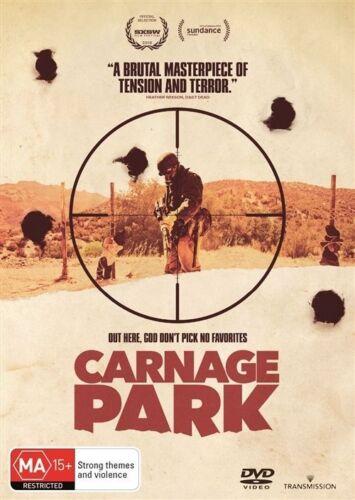 1 of 1 - Carnage Park (DVD, 2016) PAL R4 VGC FREE POSTAGE