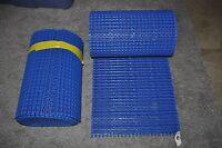 Habasit (?) Conveyor Chain Belt Blue 1' Ft Wide X 10' Ft Lot 2 Pn 159520