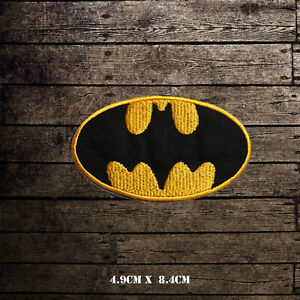Batman-Superhero-Movie-Embroidered-Iron-On-Sew-On-Patch-Badge-For-Clothes-etc