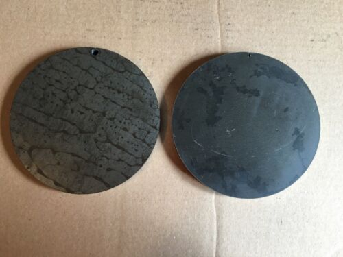 2 1//2 INCH X 6 5//8 INCH ROUND//DISC STEEL PLATES A36 GRADE pc