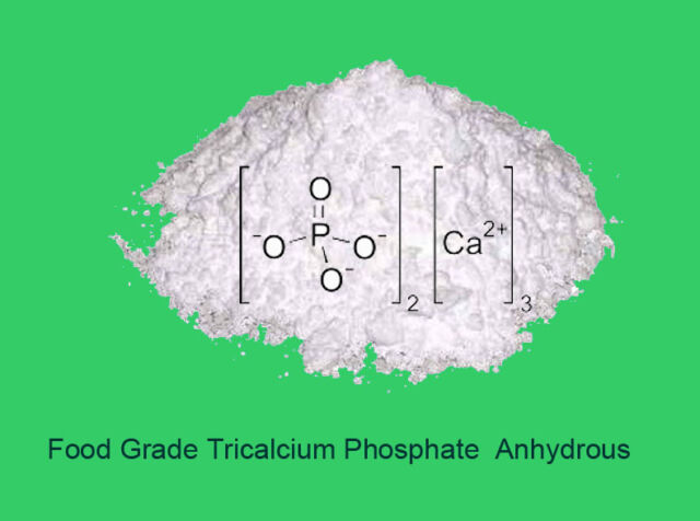 200g  Food Grade Pure Tricalcium phosphate anhydrous (TCP-A)  - E 341(iii)