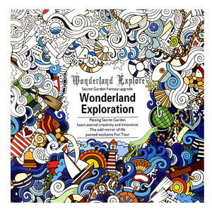 Details about Graffiti Coloring Book Books Paperback Gifts English  Wonderland Exploration