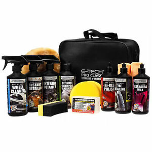 E-Tech Engineering Pro-Class Car Valeting Kit