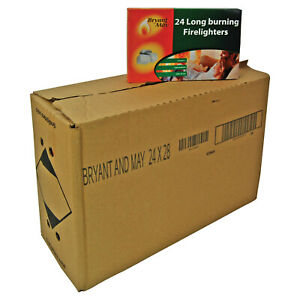 Firelighters-Bryant-amp-May-bulk-pack-of-672-Long-Burning-Home-Fire-Warm-Heat