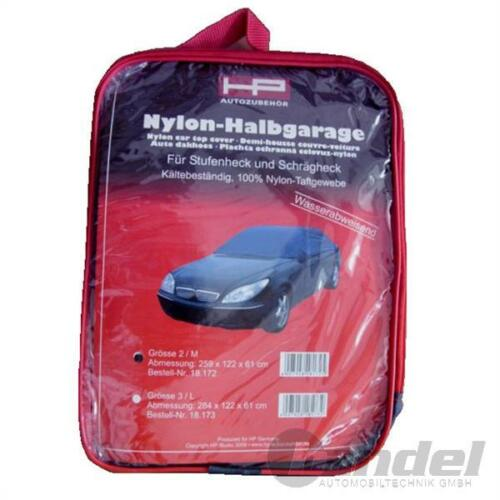 Nylon-semi garaje auto garaje protección contra la intemperie invierno garaje 284x122x61cm