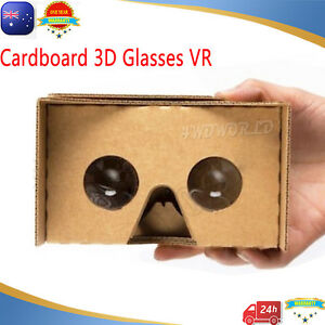 258ee493115 Cardboard 3D Glasses VR Box Virtual Reality Google For iPhone mobile ...