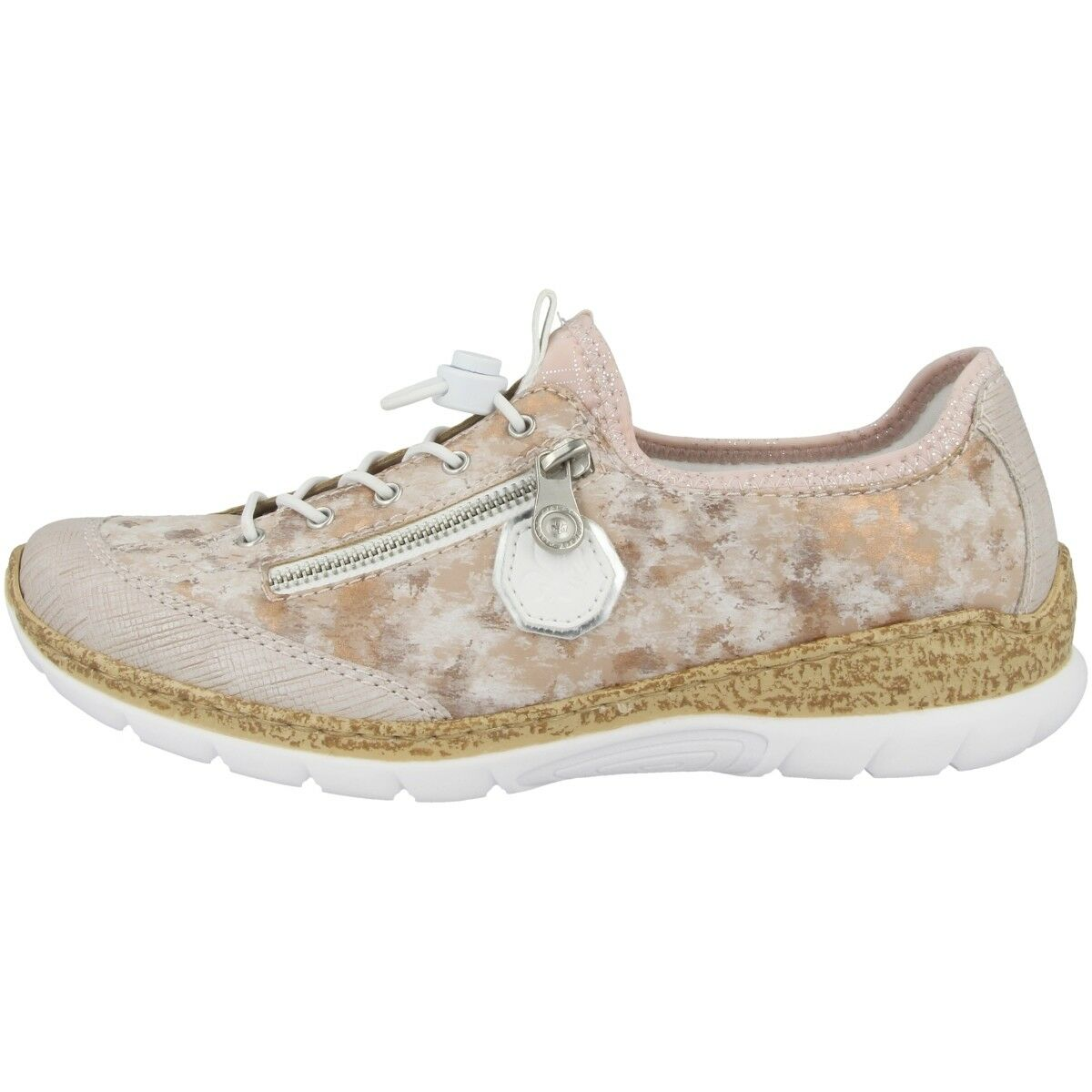 Rieker Ilridobrush-Dipinto-Mirror-Alaba shoes shoes shoes Women's Sneakers Low N4263-30 db4e66
