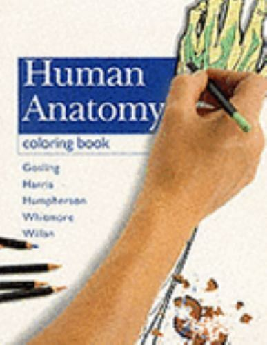 Human Anatomy Coloring Book By John A Gosling Peter L T Willan