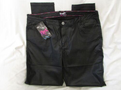 a 47 wrangler 35x29 taglia Rock media patinato 83624174326 nero vita jeans Ladies skinny wp1xq4FT