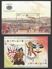 India 2002 MS Miniature Sheet Year Pack (4)