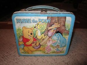 1960-039-s-Walt-Disney-Winnie-The-Pooh-Metal-Lunch-Box