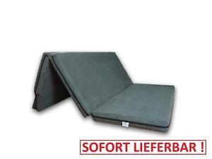 Matratze VW Caddy Kombi Life 8x120x200 cm Schlafauflage Bett Klappbar H3