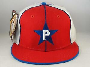 4ee02611f Details about Philadelphia Stars Negro League Headgear Fitted Hat Cap Size  7 1/2 Red White