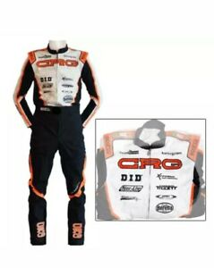 Crg Kart Printed Suit Go Kart Racing Suits Free Gifts Included Ebay