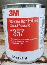 1 Gal 3M 1357 High Strength Contact Adhesive Neoprene Gray-green for