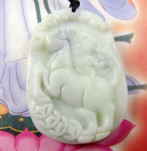 Lantian Jade horse Amulet Pendant 320