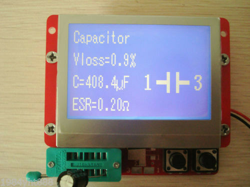 All-in-1 LCR Component Tester Transistor Diode Capacitance ESR Meter InducR B/_kz