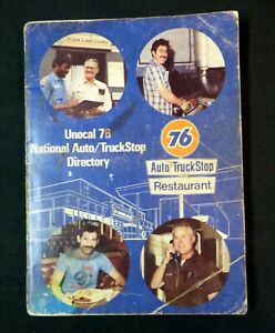 Vintage 1988 - Unocal 76 National Auto / Truck Stop Directory