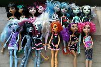 Monster High Dolls Lot of 14