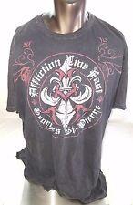Vintage Affliction George St Pierre Rush Signature Series 3XL Men's T Shirt UFC