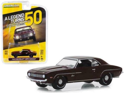 venta * 1969 Chevrolet Camaro copo-Dark Burgundy ** GreenLight Anniversary 1:64
