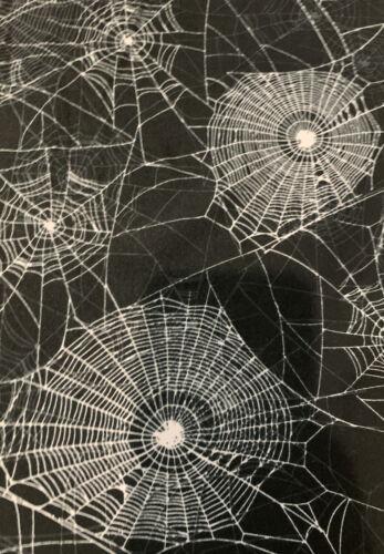 LuLaRoe TC2 Spider Webs Black Background Halloween