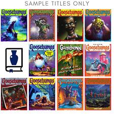 Lot of 10 RANDOM Goosebumps Books Great Gift Home school Kids Chapter Books