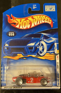 2001 HotWheels FERRARI 156 auto da corsa! molto RARO! Nuovo di zecca!